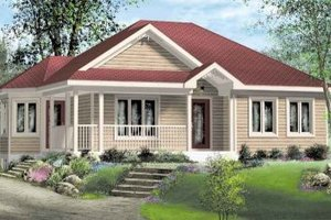 Traditional Exterior - Front Elevation Plan #25-4127
