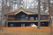 European Style House Plan - 4 Beds 3.5 Baths 2281 Sq/Ft Plan #927-15 Exterior - Rear Elevation