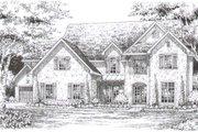 European Style House Plan - 4 Beds 4.5 Baths 4469 Sq/Ft Plan #141-270