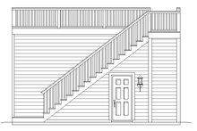 Contemporary Exterior - Rear Elevation Plan #932-157