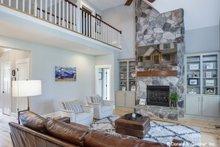 Architectural House Design - Craftsman Interior - Family Room Plan #929-1051