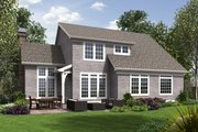 Craftsman Style House Plan - 4 Beds 2.5 Baths 2190 Sq/Ft Plan #48-677 Exterior - Rear Elevation