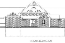 Log Exterior - Other Elevation Plan #117-560
