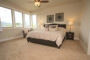 Prairie Style House Plan - 4 Beds 3 Baths 3109 Sq/Ft Plan #124-969 Interior - Master Bedroom