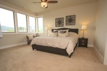 Architectural House Design - Prairie Interior - Master Bedroom Plan #124-969