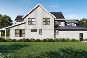 Farmhouse Style House Plan - 4 Beds 3.5 Baths 3514 Sq/Ft Plan #1070-113 Exterior - Rear Elevation