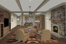 Craftsman Interior - Family Room Plan #56-705