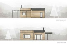 House Plan Design - Cabin Exterior - Other Elevation Plan #924-2
