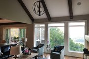 Farmhouse Style House Plan - 4 Beds 3.5 Baths 4152 Sq/Ft Plan #437-93 Interior - Family Room
