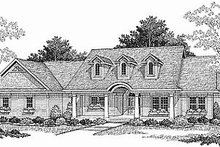 Dream House Plan - Country Photo Plan #70-197