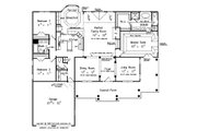 Country Style House Plan - 3 Beds 2.5 Baths 2170 Sq/Ft Plan #927-150 Floor Plan - Main Floor Plan