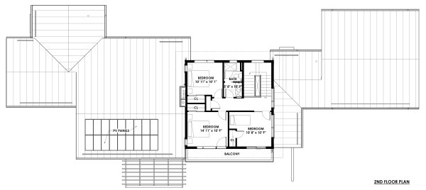 Dream House Plan - Prairie Floor Plan - Upper Floor Plan #1042-17