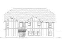 Dream House Plan - Cottage Exterior - Rear Elevation Plan #932-325