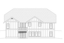 Dream House Plan - Cottage Exterior - Rear Elevation Plan #932-325