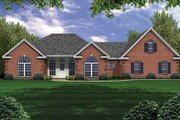 Traditional Style House Plan - 3 Beds 2.5 Baths 2251 Sq/Ft Plan #21-134 Exterior - Front Elevation