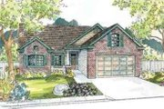 Ranch Style House Plan - 2 Beds 2 Baths 1774 Sq/Ft Plan #124-526 Exterior - Front Elevation