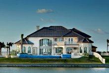 House Design - Mediterranean Exterior - Rear Elevation Plan #930-442