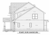 Architectural House Design - Classical Exterior - Other Elevation Plan #20-2434
