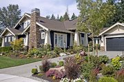Craftsman Style House Plan - 4 Beds 3 Baths 4035 Sq/Ft Plan #132-160 Photo
