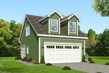 House Plan Design - Country Exterior - Front Elevation Plan #932-195
