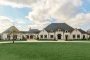 European Style House Plan - 5 Beds 5.5 Baths 5695 Sq/Ft Plan #923-74