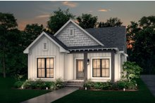 Architectural House Design - Cottage Exterior - Front Elevation Plan #430-40