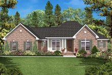 Traditional Exterior - Front Elevation Plan #430-16