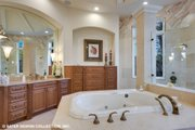 European Style House Plan - 4 Beds 5.5 Baths 6594 Sq/Ft Plan #930-516 Interior - Master Bathroom