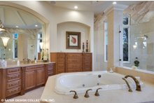 European Interior - Master Bathroom Plan #930-516