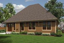 Traditional Exterior - Rear Elevation Plan #48-596