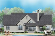 Ranch Style House Plan - 4 Beds 3 Baths 2689 Sq/Ft Plan #929-798 Exterior - Front Elevation