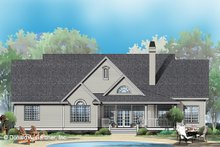 Architectural House Design - Ranch Exterior - Front Elevation Plan #929-798