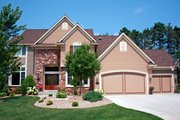 Traditional Style House Plan - 4 Beds 2.5 Baths 3001 Sq/Ft Plan #51-444 Exterior - Other Elevation