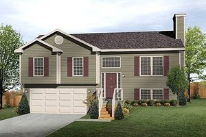Traditional Exterior - Front Elevation Plan #22-537