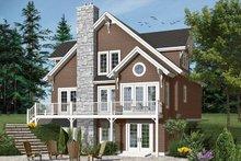 Home Plan - European Exterior - Front Elevation Plan #23-2513