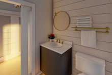 Architectural House Design - Farmhouse Interior - Bathroom Plan #126-176