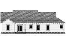 House Design - Craftsman Exterior - Rear Elevation Plan #21-382