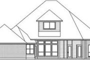 Traditional Style House Plan - 4 Beds 3 Baths 2694 Sq/Ft Plan #84-172 Exterior - Rear Elevation