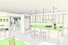 Ranch Interior - Kitchen Plan #445-6