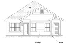 Dream House Plan - Cottage Exterior - Other Elevation Plan #513-2092