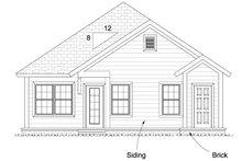 House Plan Design - Cottage Exterior - Other Elevation Plan #513-2092
