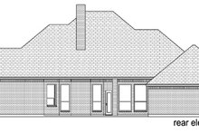 Dream House Plan - Traditional Exterior - Rear Elevation Plan #84-505