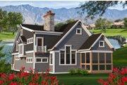 Craftsman Style House Plan - 4 Beds 3 Baths 3011 Sq/Ft Plan #70-1204