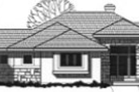 Traditional Exterior - Front Elevation Plan #67-815
