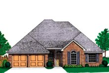Home Plan - Traditional Exterior - Front Elevation Plan #310-905