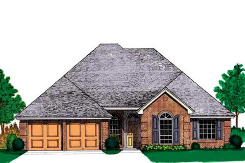 Traditional Exterior - Front Elevation Plan #310-905 - Houseplans.com