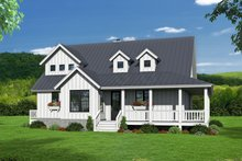 Country Exterior - Other Elevation Plan #932-33