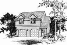 Traditional Exterior - Front Elevation Plan #22-460