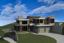 House Design - Modern Exterior - Front Elevation Plan #920-91