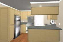 Country Interior - Kitchen Plan #44-203